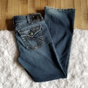 Silver Jeans | Suki Surplus Button Flap Pocket W31